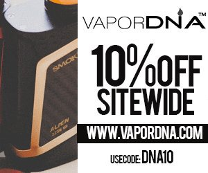 10off at VaporDNA - DNA10